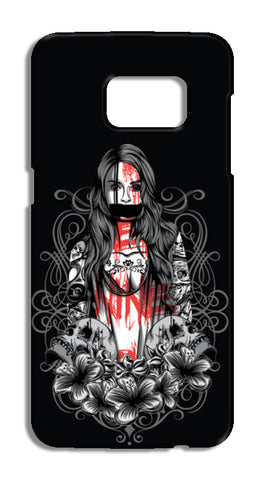 Girl With Tattoo Samsung Galaxy S7 Cases | Artist : Inderpreet Singh