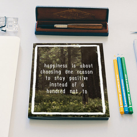 Happiness  Notebook | Artist : Tushar Gupta