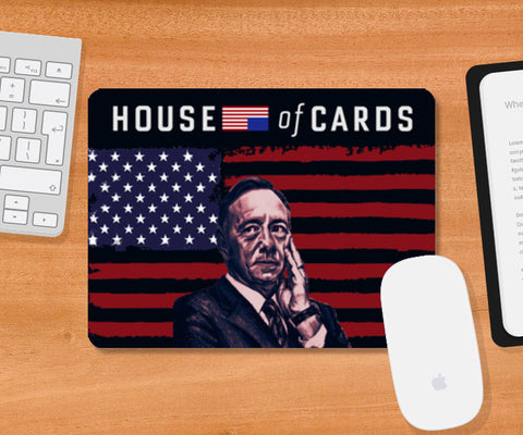 Frank Underwood - House Of Cards Mousepad | Artist : Aninya Gangal