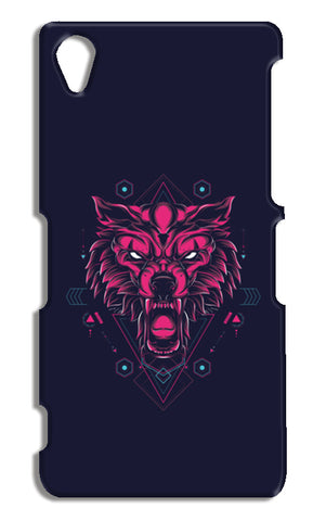 The Wolf Sony Xperia Z2 Cases | Artist : Inderpreet Singh