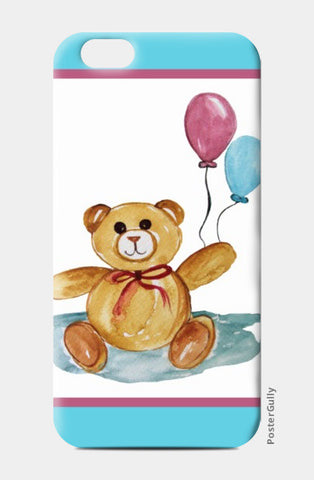 iPhone 6 / 6s, Cute Teddy With Balloons iPhone 6 / 6s Cases | Artist : Singhroha Art, - PosterGully