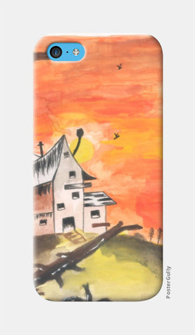 iPhone 5c Cases, Haunted House iPhone 5c Case | Artist: Teena Chauhan, - PosterGully