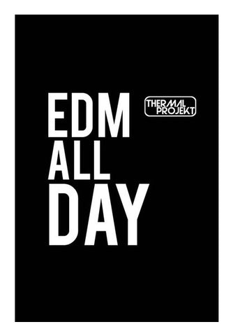 Wall Art, EDM All Day Wall Art | Artist : Thermal Projekt, - PosterGully