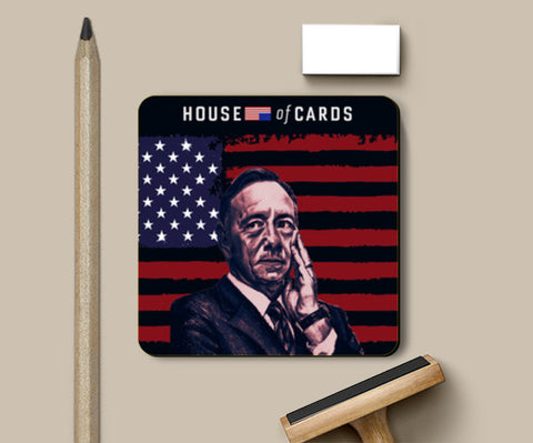 Frank Underwood - House Of Cards Coasters | Artist : Aninya Gangal