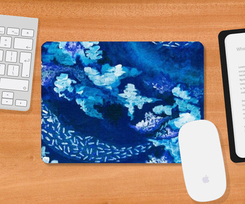 A Japanese Winter Mousepad | Artist : Shubhangni Gupta