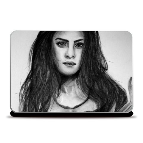 About a girl  Laptop Skins | Artist : Chahat Suri