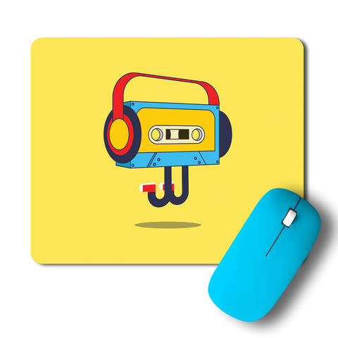 Cassette PopArt Peppy Artwork Mousepad