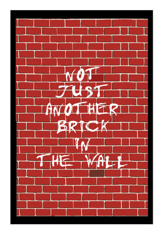 Wall Art, Pink Floyd- Not Just another brick in the wall Wall Art | Artist : Aishwarya S, - PosterGully