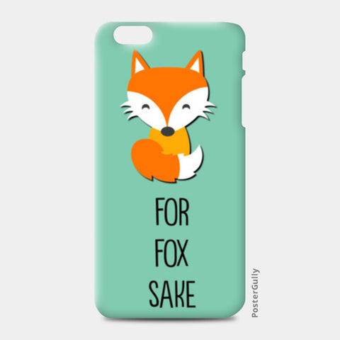 FOR FOX SAKE iPhone 6 Plus/6S Plus Cases | Artist : Manju Nk