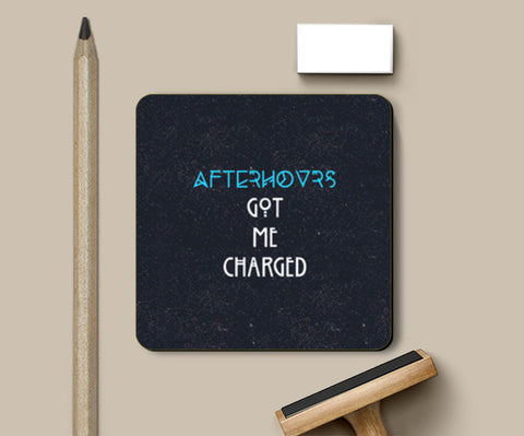 After Hours Charged Up Coasters | Artist : safira mumtaz