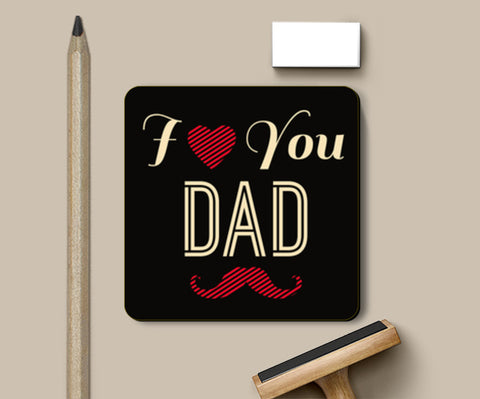 Father's Day Symbolic Illustration | #Father's Day Special  Coasters | Artist : Creative DJ