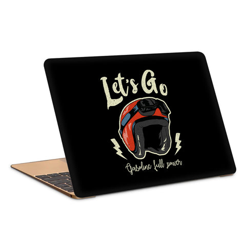 Lets Go Laptop Skin