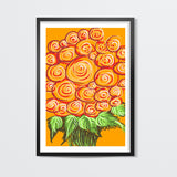 Swirls and flowers ! Wall Art | Artist : Shakthi Hari