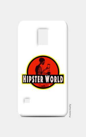 Samsung S5 Cases, Hipster World Samsung S5 Cases | Artist : Bum from the Bay, - PosterGully