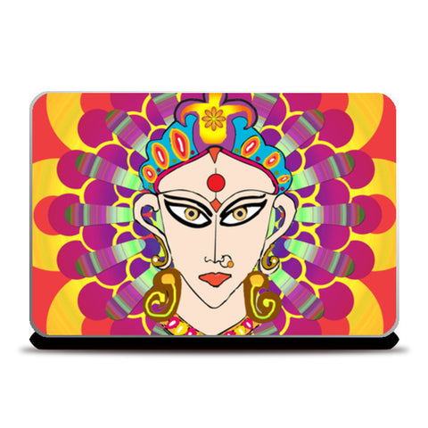 The Divine Goddess Laptop Skins | Artist : Design_Dazzlers