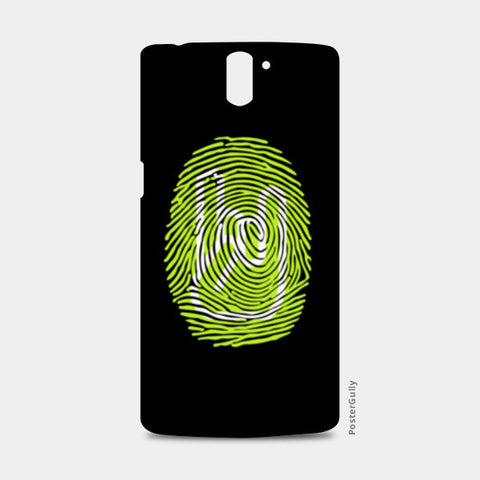 Thumping Rock Green One Plus One Cases | Artist : Ved Uttam