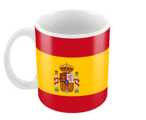 Spain | #Footballfan Coffee Mugs | Artist : Creative DJ
