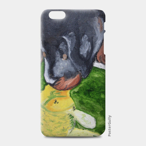 Puppy love @srijana's iPhone 6 Plus/6S Plus Cases | Artist : srijana giri