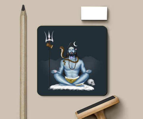 Coasters, Shankar -The Destroyer Coasters | Artist : Puneet Gaur Barnala, - PosterGully