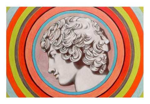 PosterGully Specials, Antinoo Farnese Wall Art  | Artist : federico cortese, - PosterGully