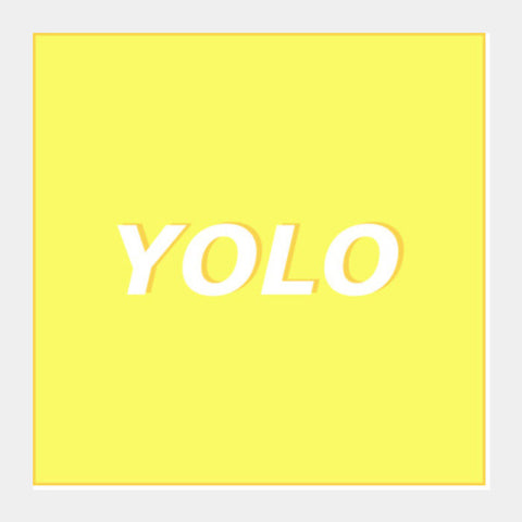 Yolo Square Art Prints PosterGully Specials