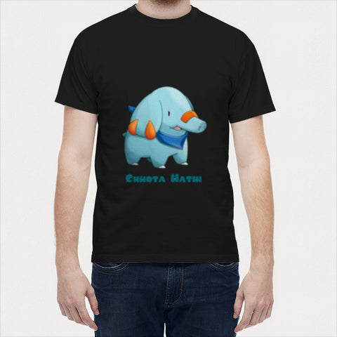 Men T Shirts, Chhota Hathi  Men T Shirts | Artist : Paresh Godhwani, - PosterGully - 1