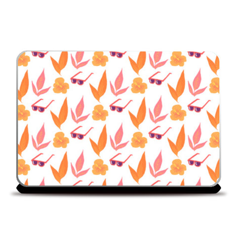 Tropical Vibes Laptop Skins | Artist : The Un.Titled