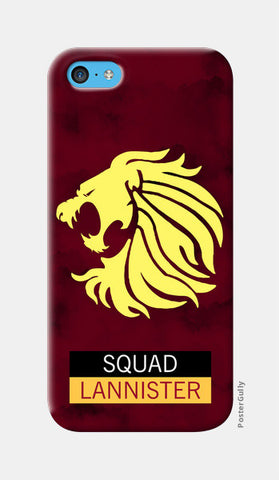 Squad Lannister | Game of Thrones iPhone 5c Cases | Artist : safira mumtaz