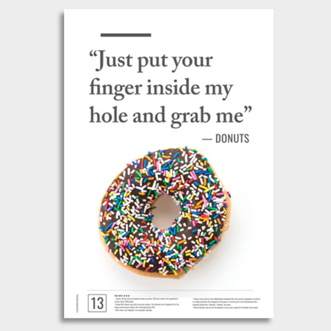 Junk Seduction_DONUTS Giant Poster | Artist : Scatterred Partikles