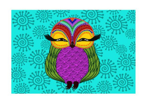 PosterGully Specials, Baby Zoe the adorable baby owl Wall Art  | Artist : Animal kingdom, - PosterGully