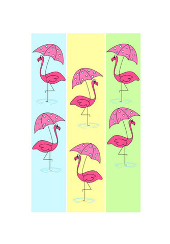 Flamingo Wall Art | Artist : mytablecreations