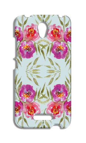 Abstract Watercolor Roses Pretty Floral Pattern Redmi Note 2 Cases | Artist : Seema Hooda