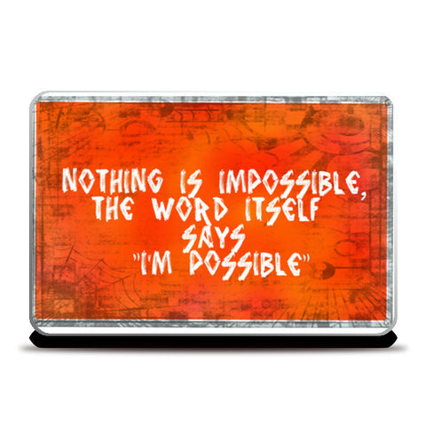 Laptop Skins, IMPOSSIBLE Laptop Skins | Artist : Aishwarya Menon, - PosterGully