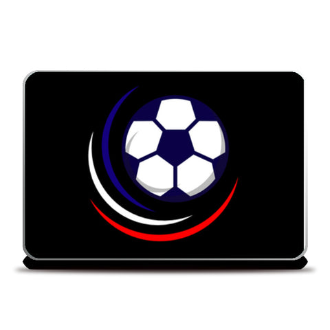 Glowing Football | #Footballfan Laptop Skins | Artist : Creative DJ