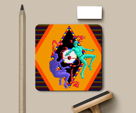Coasters, Float Coaster | Artist: Sidharth Ojha, - PosterGully