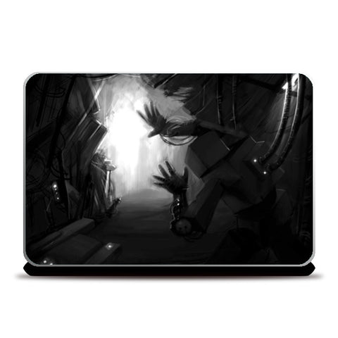 Laptop Skins, Alone in the Dark Laptop Skins | Artist : Rishi Singh, - PosterGully