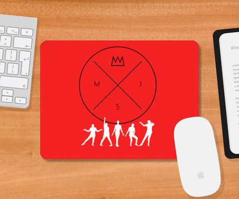 Mousepad, Thriller Mousepad | Artist : MJ5 Officials, - PosterGully