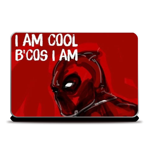 Laptop Skins, Cool Deadpool Laptop Skins | Artist : Draw On Demand, - PosterGully