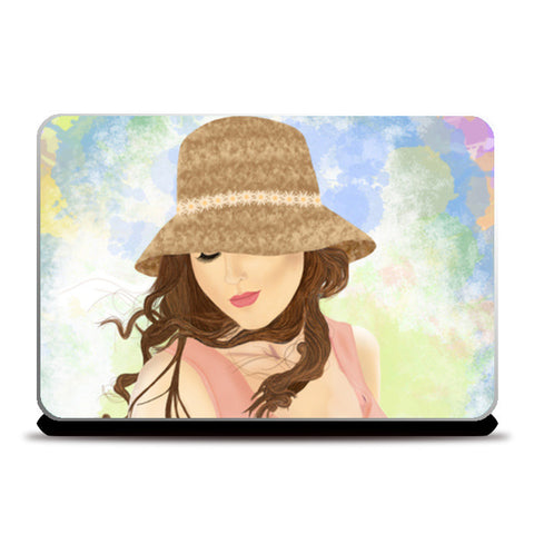 Laptop Skins, Girl Laptop Skins | Artist : Deepak NT, - PosterGully