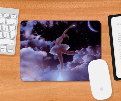 Reach the Stars Mousepad | Artist : Adeeba Ifrah