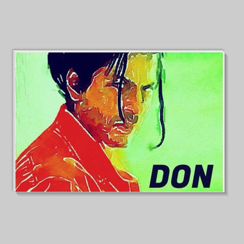 Shahrukh Khan as Don Stick Ons | Artist : Delusion