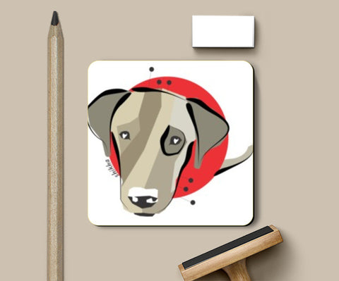Coasters, Dog Doodle Coasters | Artist : Doodle Love, - PosterGully