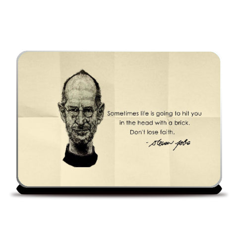 Laptop Skins, Jobs Laptop Skin | Artist Name: Pushkar Priyadarshi, - PosterGully