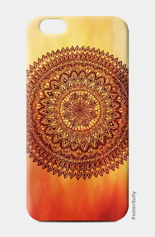 Fiery Mandala iPhone 6/6S Cases | Artist : Susrita Samantaray