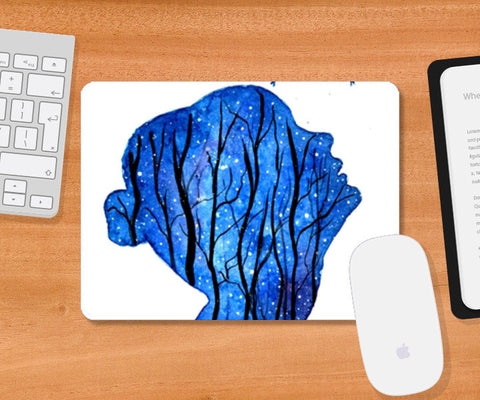 Double Exposure Mousepad | Artist : Rahul Tanwar
