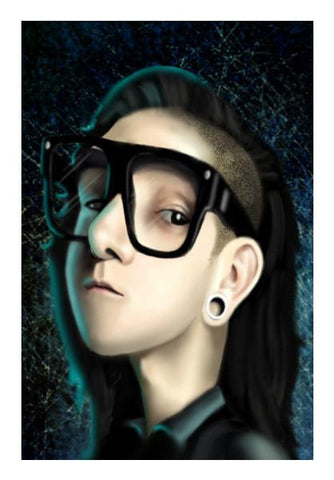 PosterGully Specials, skrillex Wall Art | Artist : vashu savani | PosterGully Specials, - PosterGully