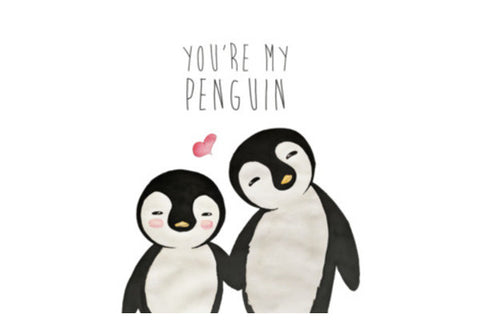 You're My Penguin | Artist: Aparna Singh Wall Art  | Artist : Aparna Singh
