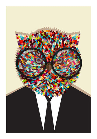 Wall Art, genius owl Wall Art | Artist : abhijeet sinha, - PosterGully