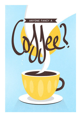 coffee poster Wall Art | Artist : Fariya Arts