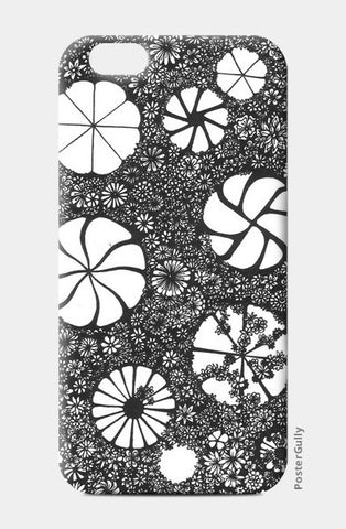 iPhone 6/6S Cases, Hand-drawn Flower Art iPhone 6 and 6S Case iPhone 6/6S Cases | Artist : Aniruddha De, - PosterGully